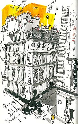 From the window. Paris. by inmaserranito, via Flickr