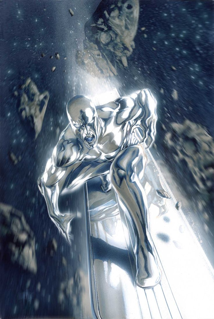 Silver Surfer (Norrin Radd) by Google Search