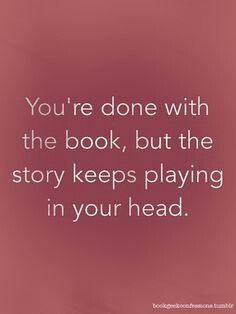 I guess that reading books is like transfering the story in that book to your brain. R8?