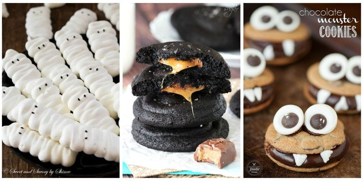 Have fun with your dessert spread with these creative and creepy ideas for Halloween cookie recipes.