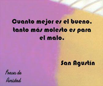 Frases de bondad de San Agustín