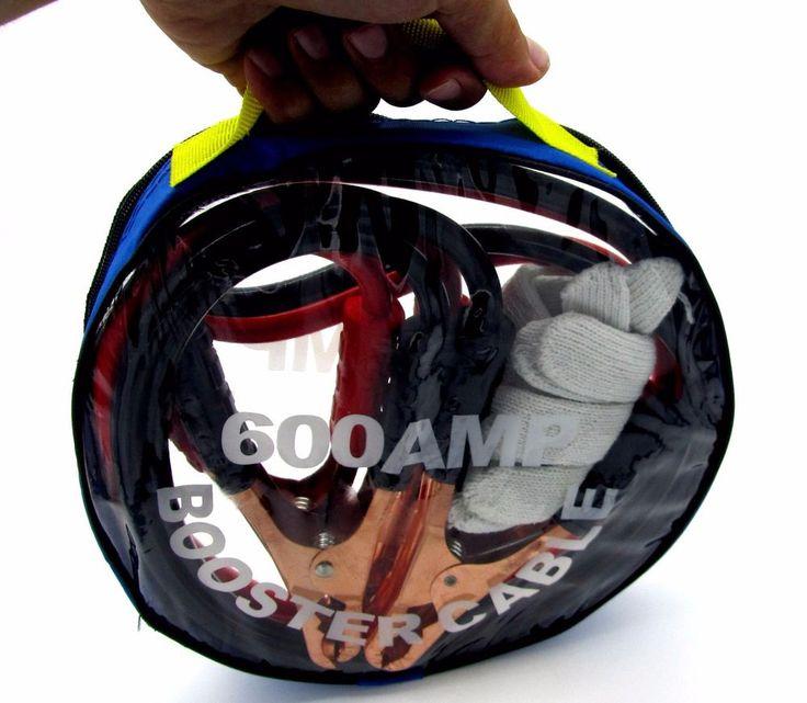 Pinzas de coche para la bateria del coche 600 Amp cables recargar bateria