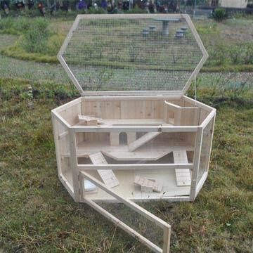 Reptile Cage, Made of Quality Fir Wood, Sized 115 x 60 x 98cm