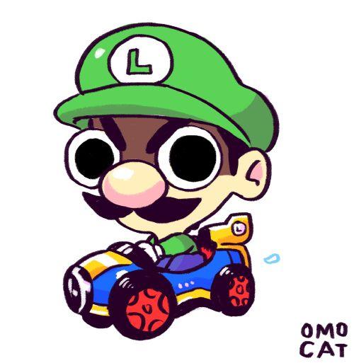Luigi - Mario Kart 8. via: http://www.ign.com/blogs/ereeeek/2014/06/06/luigi-is-a-sociopath/?utm_campaign=fbposts&utm_source=facebook