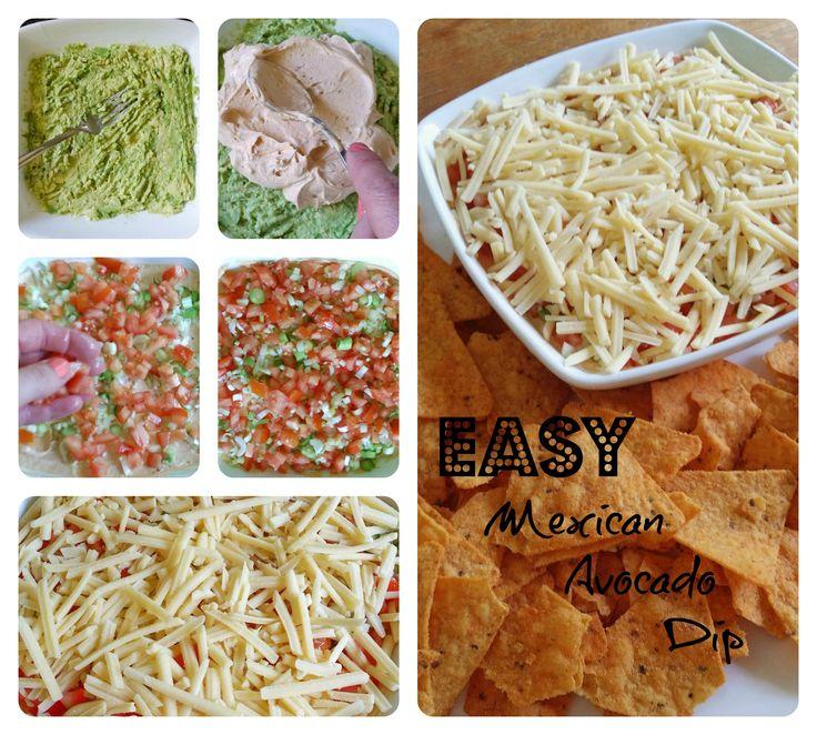 easy mexican avocado dip