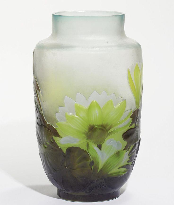 1000+ images about Art Nouveau Vases-Emilie Galle on ...