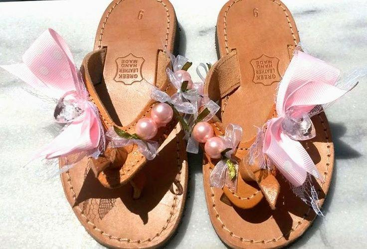 Histoires De Roses: Pink Baby Sandals @Summer Olsen 2014