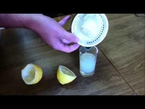 Experimento tinta invisible (con zumo de limón) - YouTube