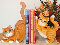 Kitty Bookends Download