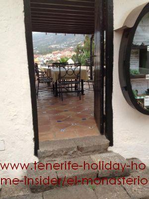 El Monasterio amusement park of Los Realejos Tenerife North Un restaurante para cenar con velas y la brisa del Teide....(Jesús gracias por esas cenas)....