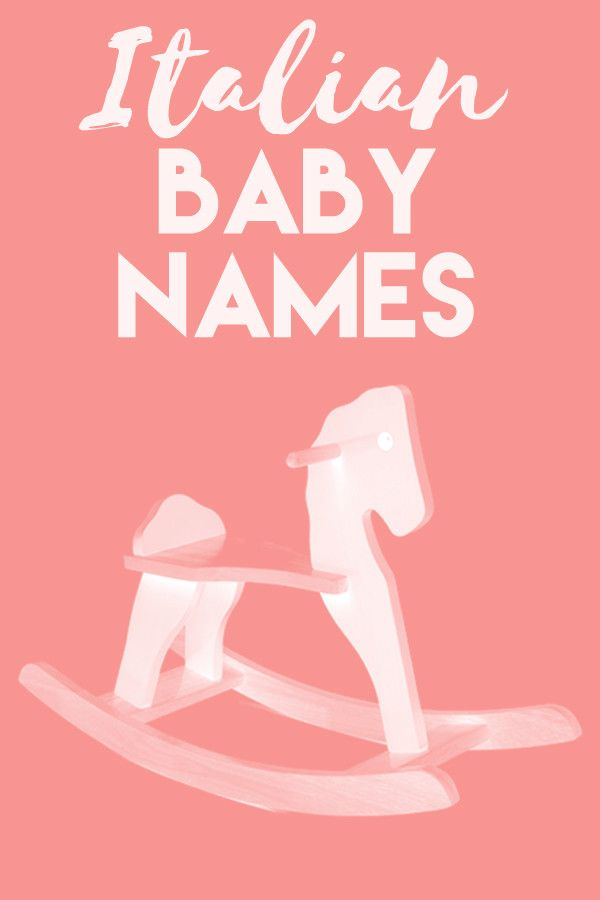 Italian Boy Name: 165 Best Images About NURSERY On Pinterest