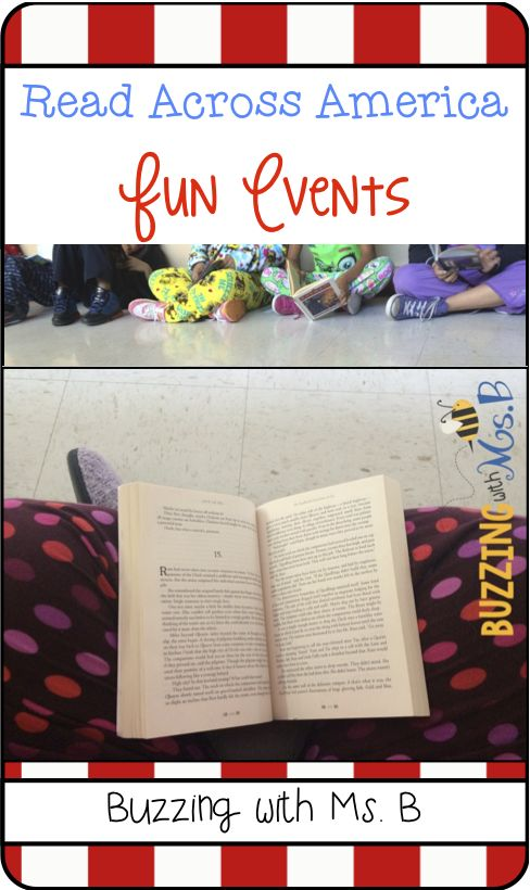 Several fun events for Read Across America - Read Across Our School is a great way to get all kids to see everybody reads! Mustache day is another fun event! Read Across America Celebration: Fun Events All Week Long!
