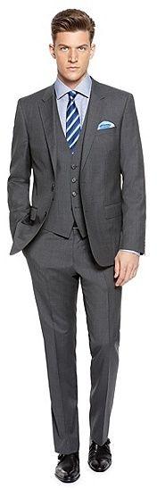 hugo boss three piece suit charcoal - Sök på Google