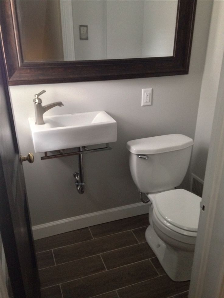 Reno Of Small 3x4 Bathroom In 2019 Bathroom Basement