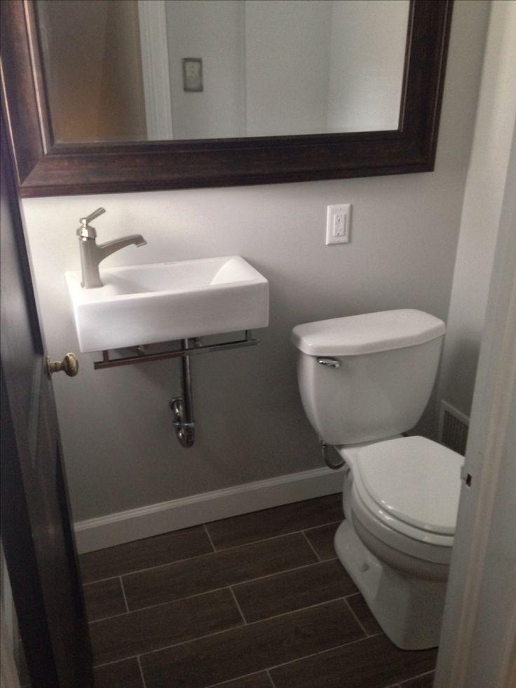 Reno Of Small 3x4 Bathroom In 2019 Bathroom Basement