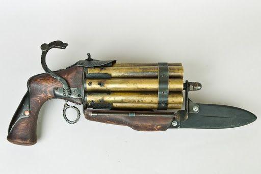 Handgun via steampunker.ru