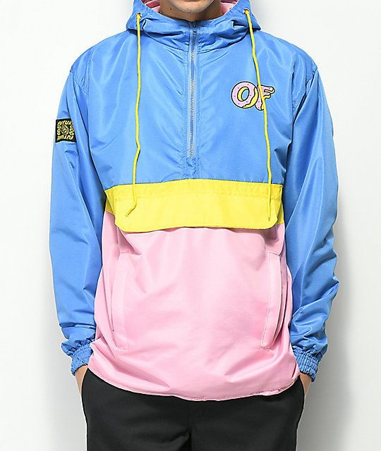 f90c6f623285 new Odd Future Color Block Yellow