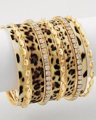 Beautiful combination of everything African. Leopard, gold, diamonds. I am proud to be an African.