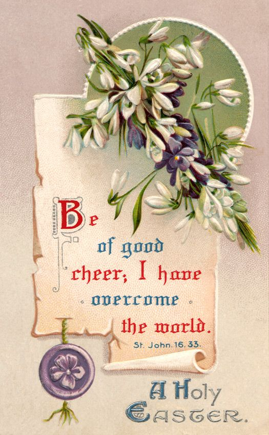 432 best Bible verses in vintage images on Pinterest Bible - free printable religious easter cards