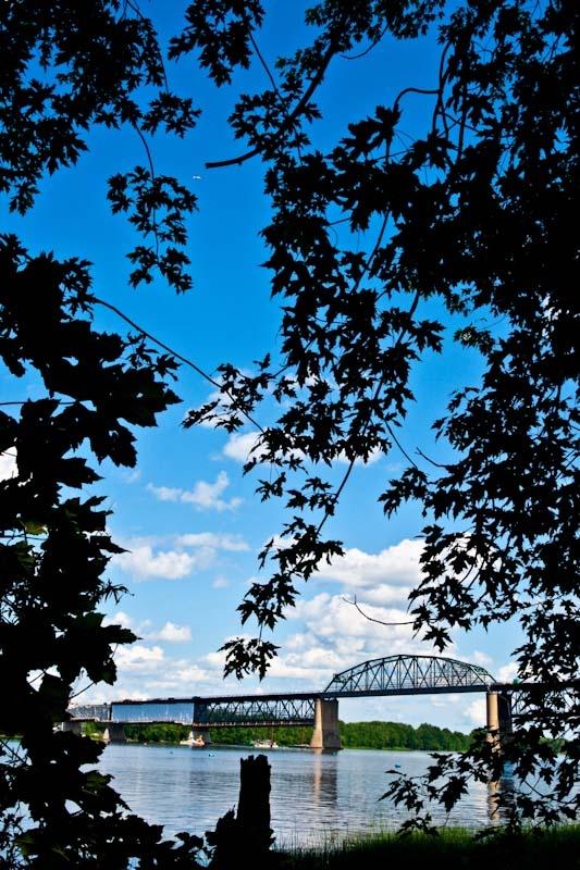 Princess Margaret Bridge, Fredericton, New Brunswick
