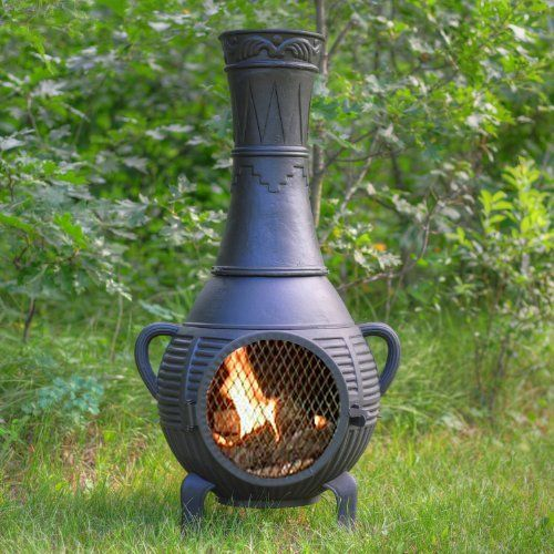 9 best garden outdoor heaters fire pits images on for Outdoor fireplace spark arrestor