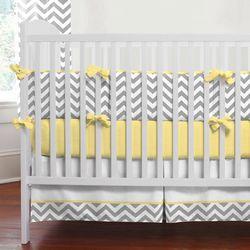 Chevron Chevron Chevron: Crib Bedding, Baby Bedding, Baby Beds, Colors, Carousels Design, Cribs Beds, Yellow, Baby Rooms, Nurseries Ideas