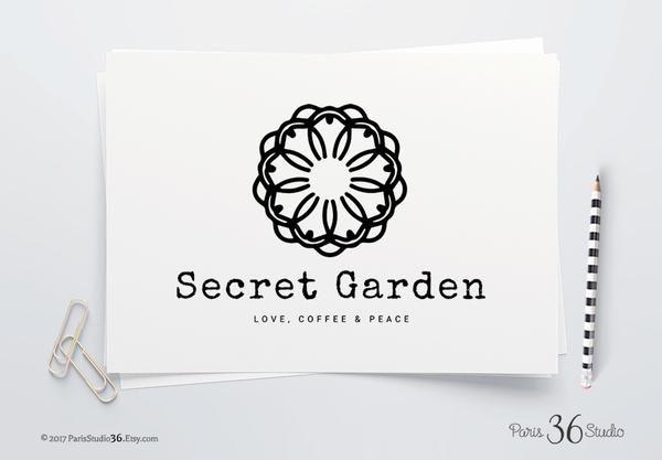 DIY Instant Download Logo PSD Mandala Logo Design for yoga studio branding, restaurant logo design, e-commerce website logo, wordpress blog logo, boutique logo, photography branding, wedding logo, website branding design.