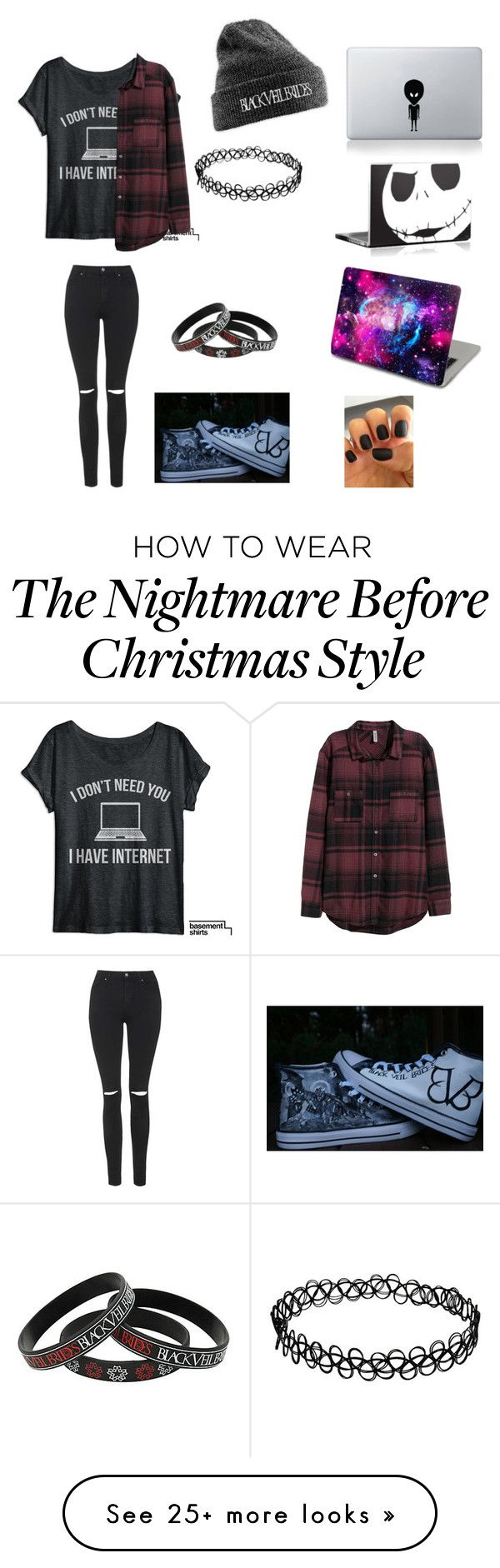 """Untitled #162"" by phanisnotonfire6 on Polyvore featuring mode, H&M…"