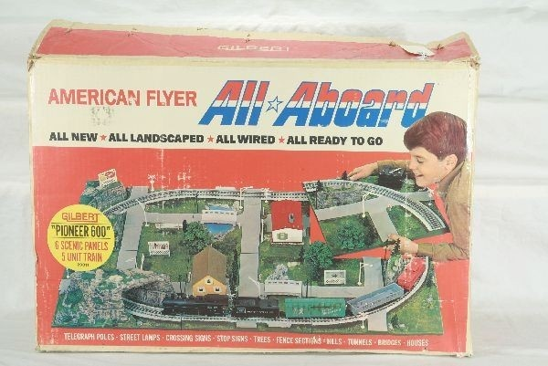 Af All Aboard Pioneer Train Set Train Collection