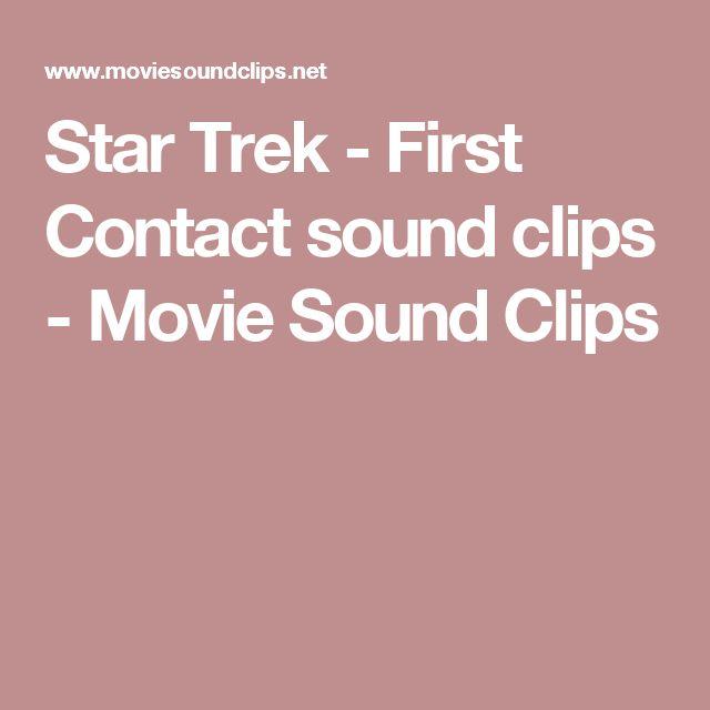 Star Trek - First Contact sound clips - Movie Sound Clips
