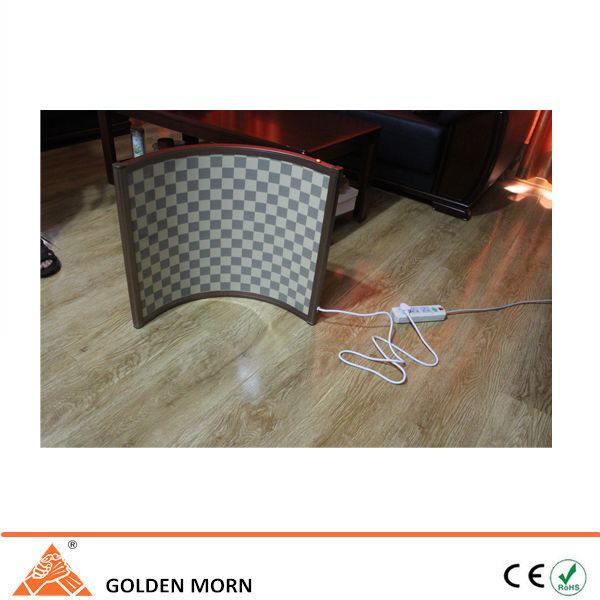 Infrared portable heater doesn't need any installation. Taking plug in and turning on the switch, then it will begin to work. www.sinoradiator.com