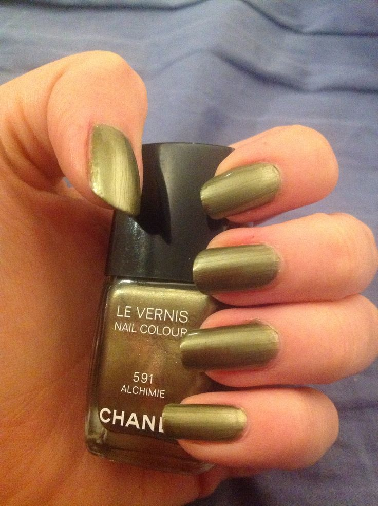 Chanel nails - 591 Alchimie