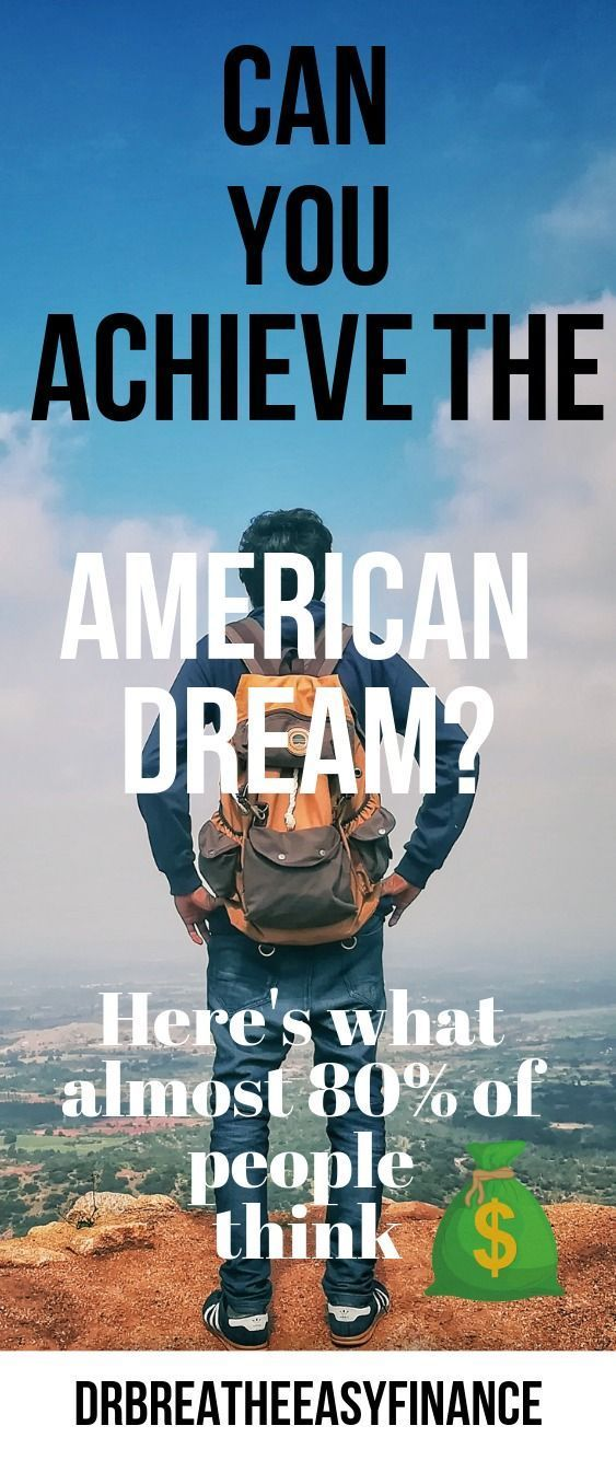 Is The American Dream Still Alive Dead Or Just Really