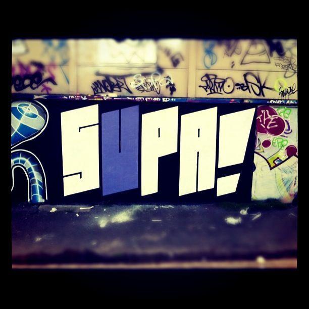 supa! graffiti