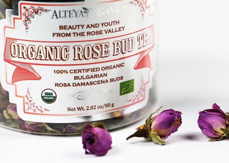 Herbata z pąków róży i różany krem do rąk Alteya Organics   Nez de Luxe — blog i opinie o perfumach
