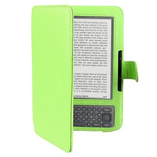 eForCity Leather Case Compatible with Amazon Kindle 3, Green by eForCity. $1.71. Compatible With Amazon: Kindle 3 / Wi-Fi / 3G + Wi-Fi