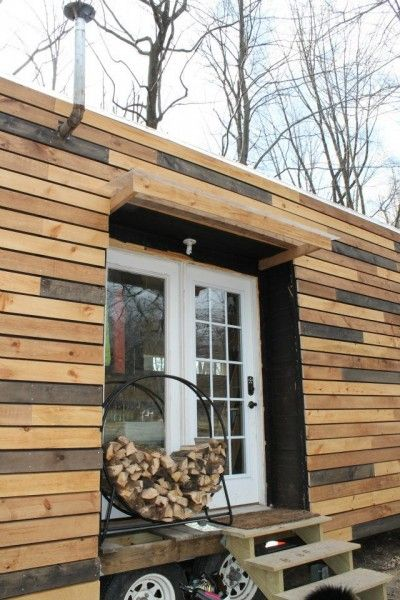another one that I love!  Nate and Jens Home on Wheels: Living Simply and Free in a Tiny House Photo