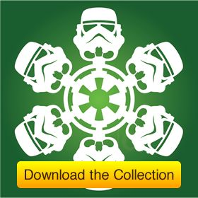 Free Download: DIY Star Wars Snowflakes from Matters of Grey