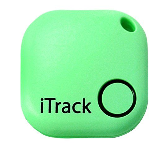 Amazon.com : Key finder GPS Smartphone Bluetooth by iTrack Easy Anti-Lost Device to Track Items. Easy to Use - App & Green LED Alarm Device with Batteries. Also Remote Camera Controller. : Office Products