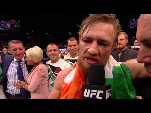 UFC (Ultimate Fighting Championship): UFC 189: Conor McGregor and Chad Mendes Octagon Interviews