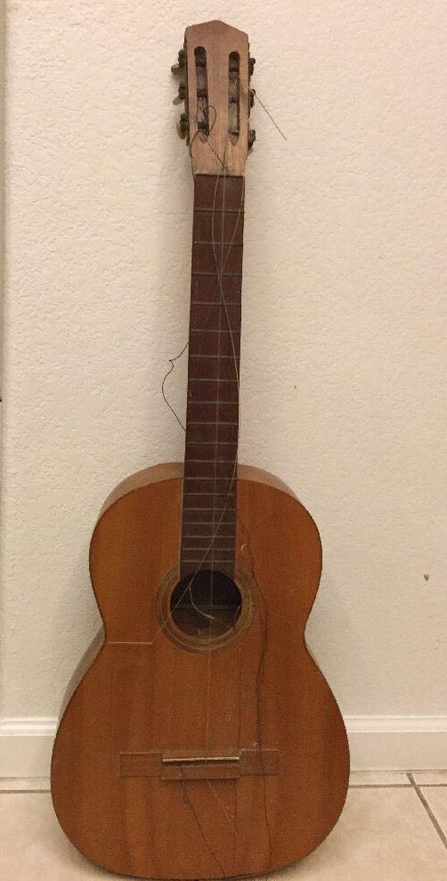 RARE 1961 Luis Maravilla Flamenco Acoustic Guitar Guitarras Valencianas 4-Madrid #LuisMaravilla