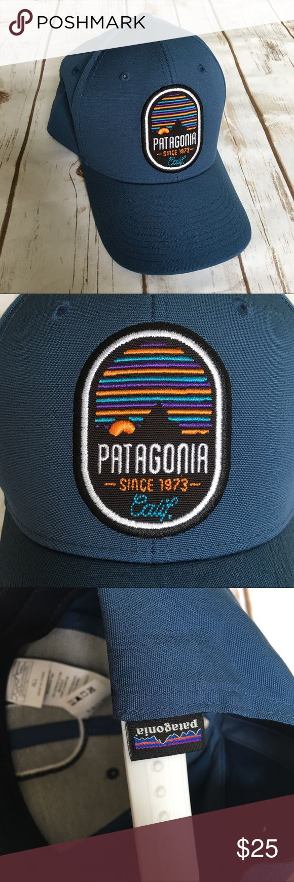Patagonia Snapback Hat New Without Tags! Not as dark blue as the pics show! Patagonia Accessories Hats