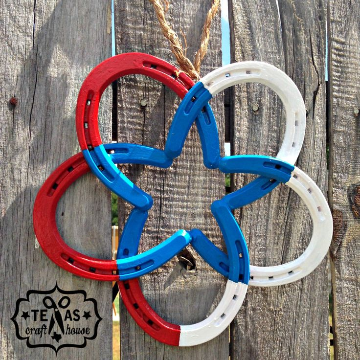 {Texas Craft House} How to a Make Horseshoe Star