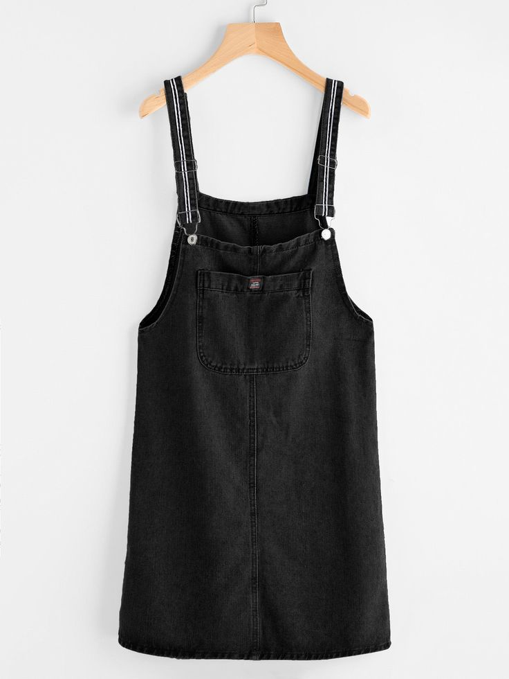 Shop Pinafore Denim Dress With Pockets online. SheIn offers Pinafore Denim Dress With Pockets & more to fit your fashionable needs.