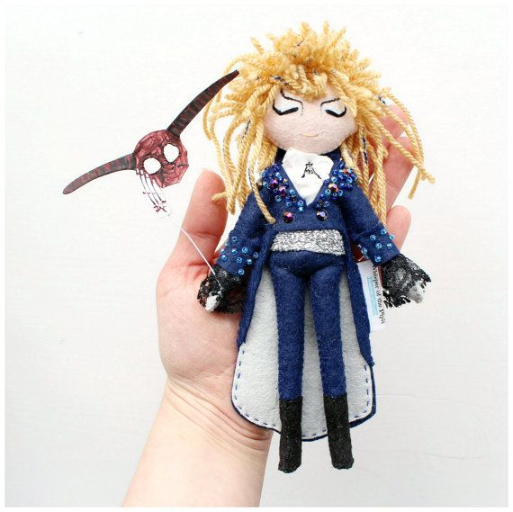 Jareth the Goblin King Labyrinth doll. The ball scene outfit