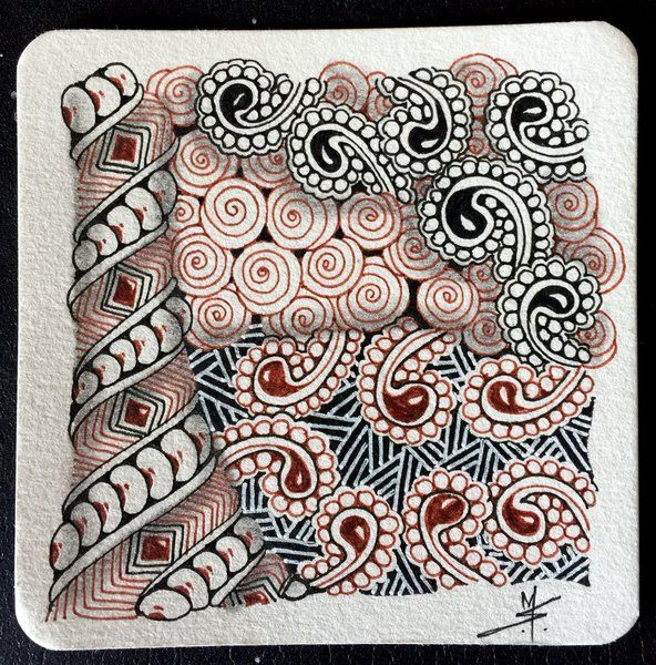 1000 images about tan tiles on pinterest for Zentangle tile template