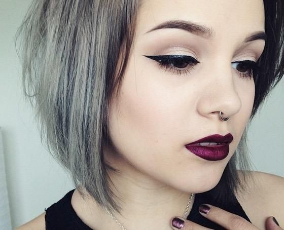 Hair Styles Tumblr: 17 Best Ideas About Grey Hair Young On Pinterest