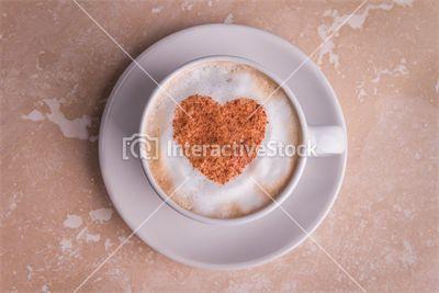 Coffee time! Kawa poprawia koncentrację, zmniejsza zmęczenie i senność. Interactivestock poleca.   #cappuccino #serce #szczęście #poranna #kawa #interactivestock