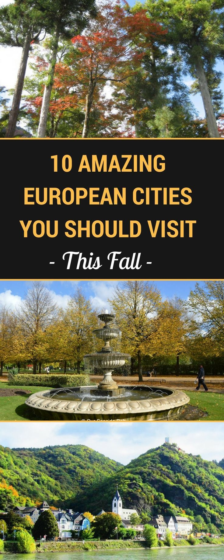 The best places to visit in fall in Europe for atmosphere