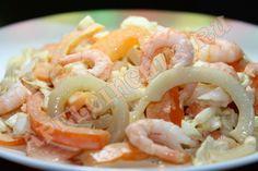 Овощной праздничный салат